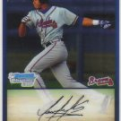 2009 Bowman Prospects Chrome  #31 Luis Sumoza   Braves