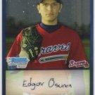 2009 Bowman Prospects Chrome  #33 Edgar Osuna   Braves