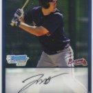 2009 Bowman Prospects Chrome  #47 Jon Mark Owings   Braves