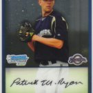 2009 Bowman Prospects Chrome  #50 Patrick Ryan   Brewers