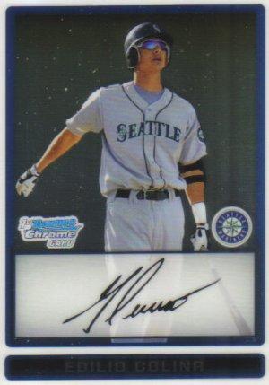 2009 Bowman Prospects Chrome  #53 Edilio Colina   Mariners
