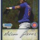 2009 Bowman Prospects Chrome  #55 Nelson Perez   Cubs