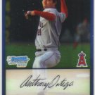 2009 Bowman Prospects Chrome  #57 Anthony Ortega   Angels