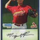 2009 Bowman Prospects Chrome  #73 Miguel Flores   Cardinals