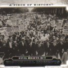 2008 Upper Deck Piece of History  #179 Civil Rights Act   Historical Moments