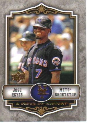 2009 Upper Deck Piece of History  #57 Jose Reyes   Mets