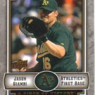 2009 Upper Deck Piece of History  #70 Jason Giambi   A's