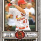 2009 Upper Deck Piece of History  #85 Ryan Ludwick   Cardinals