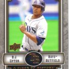 2009 Upper Deck Piece of History  #89 B.J. Upton   Rays