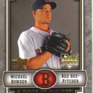 2009 Upper Deck Piece of History  #107 Michael Bowden  RC  Red Sox