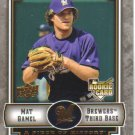 2009 Upper Deck Piece of History  #117 Mat Gamel  RC  Brewers