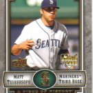 2009 Upper Deck Piece of History  #135 Matt Tuiasosopo  RC  Mariners
