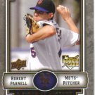 2009 Upper Deck Piece of History  #142 Robert Parnell  RC  Mets