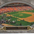 2009 Upper Deck Piece of History  #164 1989 San Francisco 'Quake   Historical Moments
