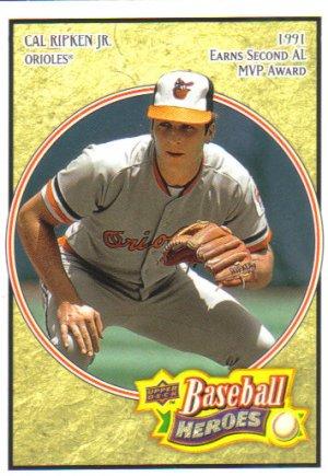 2008 Upper Deck Heroes  #16 Cal Ripken Jr.   Orioles