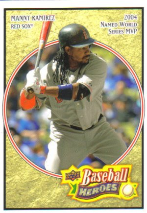 2008 Upper Deck Heroes  #22 Manny Ramirez   Red Sox