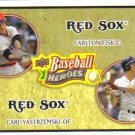 2008 Upper Deck Heroes  #177 Carlton Fisk / Carl Yastzemski   Red Sox