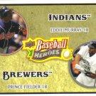 2008 Upper Deck Heroes  #181 Eddie Murray / Prince Fielder