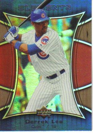 2007 Upper Deck Elements  #7 Derrek Lee   Cubs