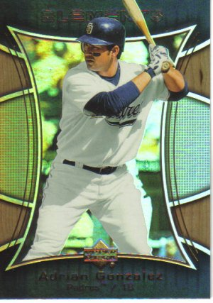 2007 Upper Deck Elements  #33 Adrian Gonzalez   Padres