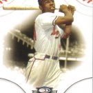 2008 Donruss Threads  #1 Hank Aaron   Braves