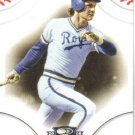 2008 Donruss Threads  #27 George Brett   Royals
