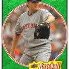 2008 Upper Deck Heroes Emerald Green  #26 Curt Schilling   Red Sox  /499