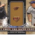 2008 Upper Deck Piece of History Cut From Same Cloth  #PH Roy Halliday / Jake Peavy  /799