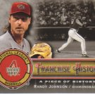 2009 Upper Deck Piece of History Franchise History Black  #RJ Randy Johnson   Diamondbacks  /149