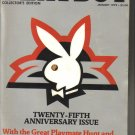 January 1979  Playboy Magazine   25th Anniversary Issue