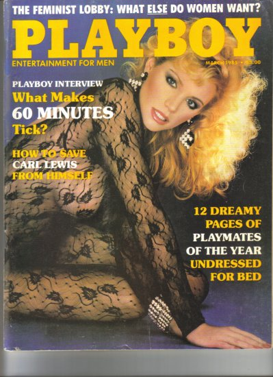 1985 Playboy Magazine Complete 12 Issue Set Very Good Condition Madonna
