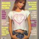 September 1990  Playboy Magazine   Rosanna Arquette
