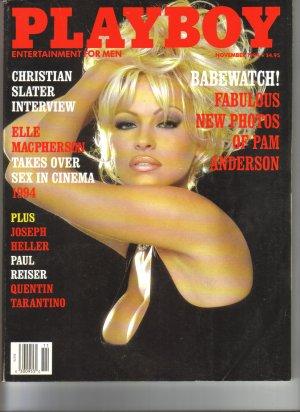 November 1994  Playboy Magazine   Pamela Anderson