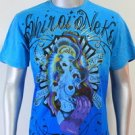 SHIROI NEKO T-shirt Tattoo Rock Skull Punk Mens Code : A013 Size=L