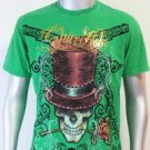 SHIROI NEKO T-shirt Tattoo Rock Skull Punk Mens Code : A016 Size=L