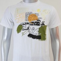 SHIROI NEKO T-shirt Tattoo Rock Skull Punk Mens Code : A060 Size=M