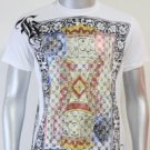 SHIROI NEKO T-shirt Tattoo Rock Skull Punk Mens Code : A069 Size=M