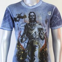 SHIROI NEKO T-shirt Tattoo Rock Skull Punk Mens Code : A072 Size=M