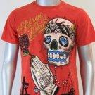 SHIROI NEKO T-shirt Tattoo Rock Skull Punk Mens Code : A075 Size=M