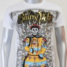 SHIROI NEKO T-shirt Tattoo Rock Skull Punk Mens Code : A077 Size=M