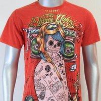 SHIROI NEKO T-shirt Tattoo Rock Skull Punk Mens Code : A080 Size=M