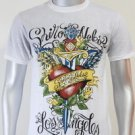 SHIROI NEKO T-shirt Tattoo Rock Skull Punk Mens Code : A054 Size=M