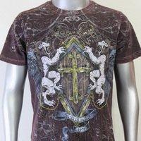 SHIROI NEKO T-shirt Tattoo Rock Skull Punk Mens Code : A020 Size=L