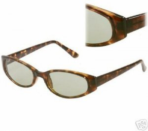 Genuine DOCKERS Tortoise Shell Framed Sunglasses Retail $37 with Dockers Protective Soft Case
