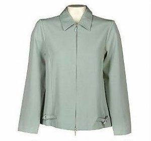 DIALOGUE Twinstretch Double Zip Front Jacket MED 10 M
