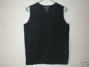 DENIM & CO Chenille Sleeveless Tank Top Vest SMALL S