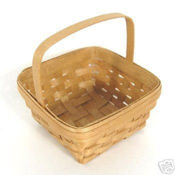 BRADFORD Miniature Mini Wee Picking Basket Collectible