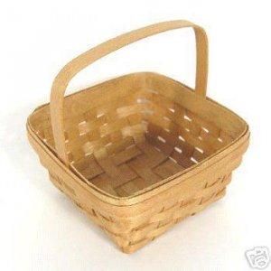 BRADFORD Miniature Mini Wee Picking Basket Collectible