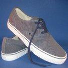 NEW Polo Ralph Lauren Men's Blue Vintage Burlap Morray Lace-Up Sneakers - 16D