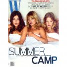 Pre-Owned W Magazine - Daria Werbowy, Kate Moss & Lara Stone Cover - July 2008